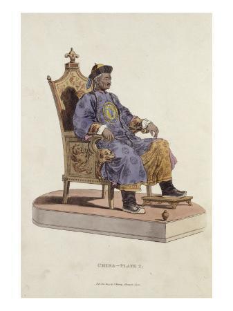 william-alexander-portrait-de-l-empereur-qianlong-assis