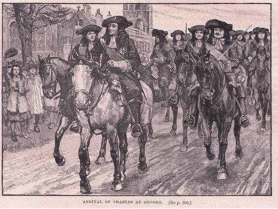 william-barnes-wollen-arrival-of-charles-at-oxford-ad-1681