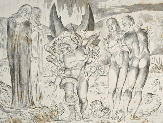 william-blake-the-circle-of-the-thieves-agnolo-brunelleschi-attacked-by-a-six-footed-serpent-inferno