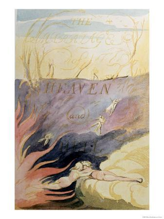william blakeís the marriage of heaven and hell essay Free essay: the marriage of heaven and hell although many of the romantic  poets  the marriage of heaven & hell william blake & the romantic period we ,.