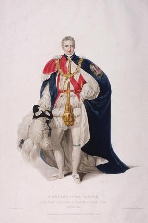 william-bond-knight-of-the-garter-in-ceremonial-costume-1824