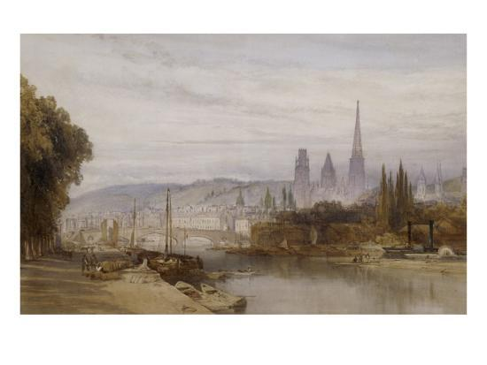 william-callow-vue-de-rouen