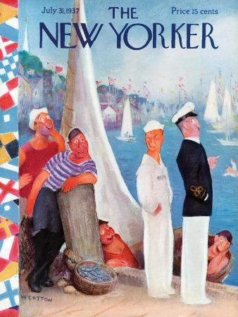 william-cotton-the-new-yorker-cover-july-31-1937