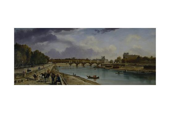 william-cowen-the-seine-below-paris-c-1825-35