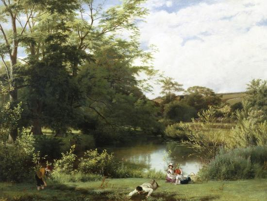 william-frederick-witherington-gathering-watercress-on-the-river-mole-surrey