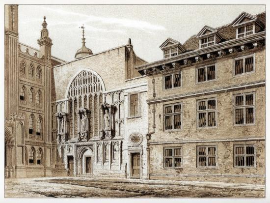 william-griggs-west-front-of-guildhall-chapel-city-of-london-1886