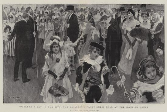 william-hatherell-twelfth-night-in-the-city-the-children-s-fancy-dress-ball-at-the-mansion-house