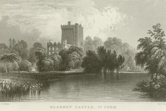 william-henry-bartlett-blarney-castle-in-county-cork
