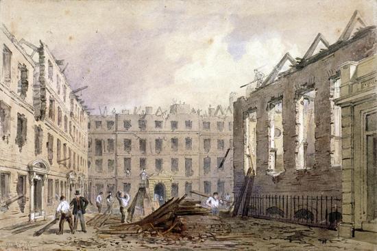william-henry-prior-the-demolition-of-lyon-s-inn-westminster-london-1862