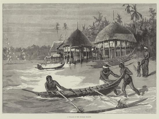 william-heysham-overend-a-village-in-the-nicobar-islands