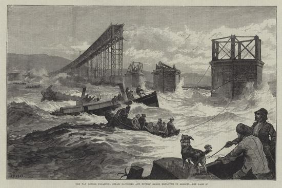 william-heysham-overend-the-tay-bridge-disaster-steam-launches-and-divers-barge-employed-in-search
