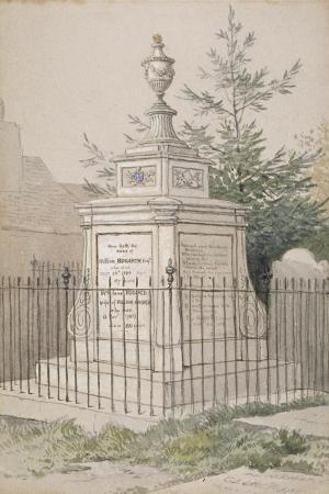 william-hogarth-s-tomb-in-st-nicholas-churchyard-chiswick-hounslow-london-c1820
