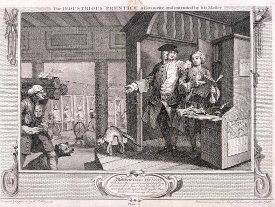 william-hogarth-the-industrious-apprentice-a-favourite-plate-iv-of-industry-and-idleness-1747