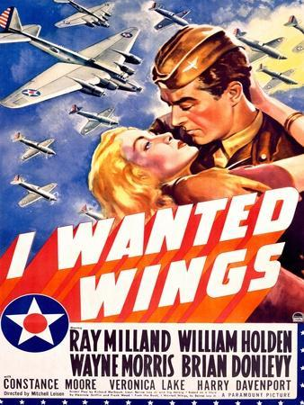 william holden wwii aff wings movie poster giclee print at