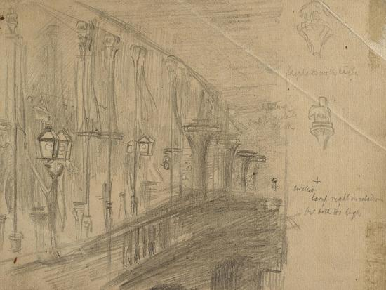 william-holman-hunt-recto-study-of-london-bridge-for-london-bridge-on-the-night-of-the-marriage-of-the-prince-and-pri
