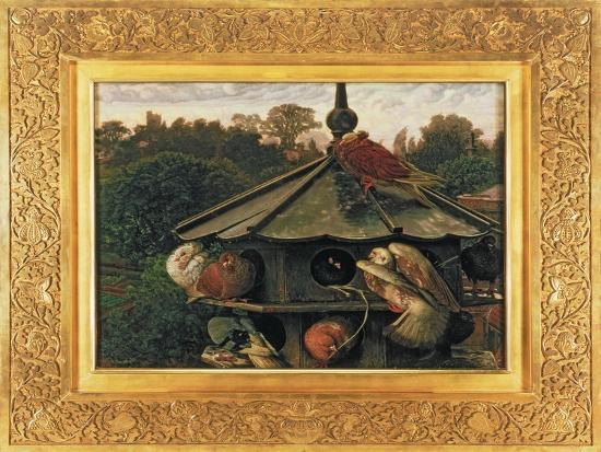 william-holman-hunt-the-festival-of-st-swithin-or-the-dovecote-1866-75