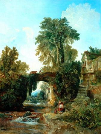 william-james-muller-collecting-water