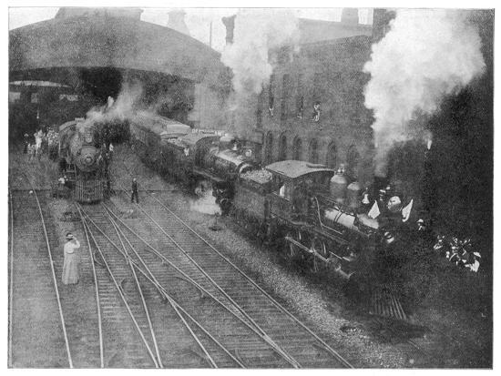 william-mckinley-the-assassinated-presidents-funeral-train-leaving-buffalo