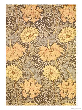 william-morris-chrysanthemum-wallpaper-design-1876