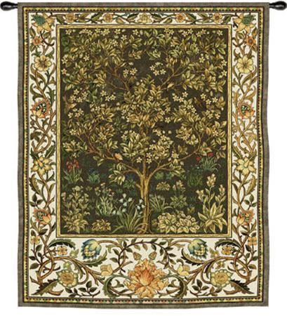william-morris-tree-of-life-umber