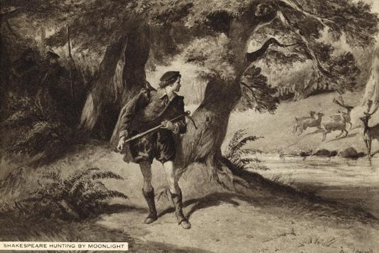 william-shakespeare-hunting-by-moonlight