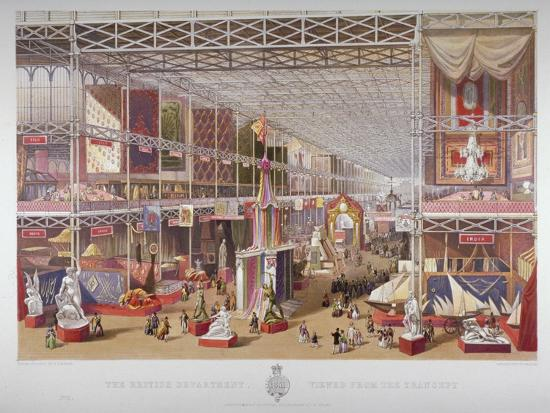 william-simpson-the-great-exhibition-hyde-park-westminster-london-1851