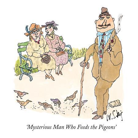 william-steig-mysterious-man-who-feeds-the-pigeons-new-yorker-cartoon