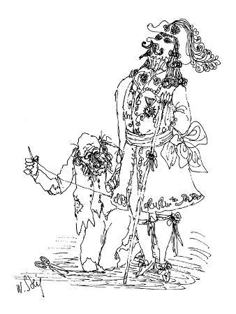 william-steig-tailor-sews-elaborate-clothes-on-nobleman-new-yorker-cartoon