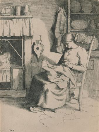 william-strang-mercy-at-her-work-c1916