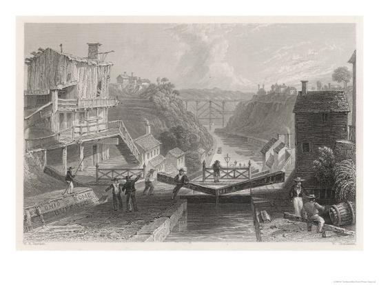 william-tombleson-lockport-on-the-erie-canal