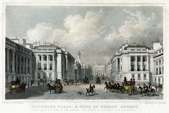 william-tombleson-waterloo-place-and-part-of-regent-street-westminster-london-1828