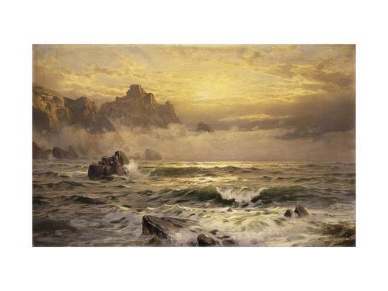 william-trost-richards-mornings-mist-guernsey