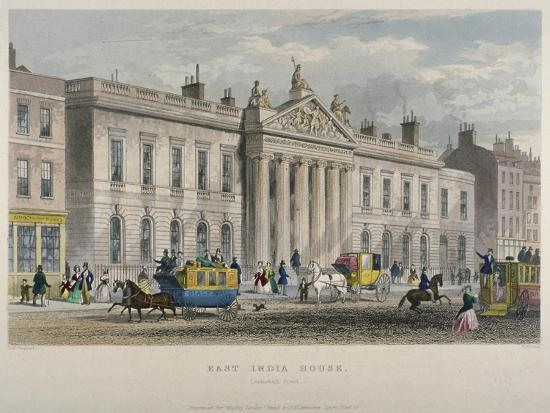 william-wallace-north-view-of-east-india-house-leadenhall-street-city-of-london-1850