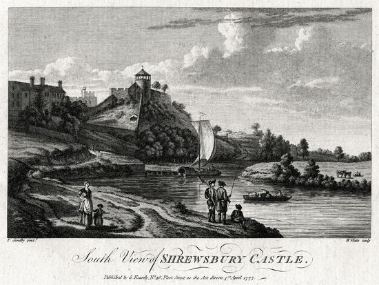 william-watts-south-view-of-shrewsbury-castle-shropshire-1777