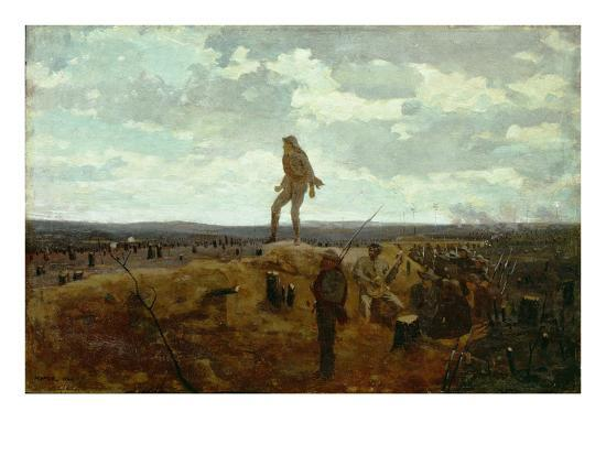 winslow-homer-defiance-inviting-a-shot-before-petersburg-1864-oil-on-panel