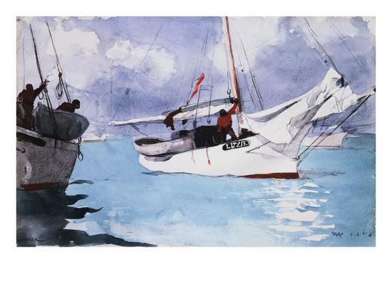 winslow-homer-fishing-boats-key-west