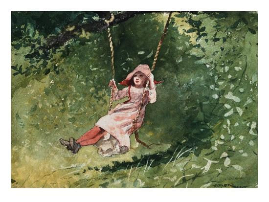 winslow-homer-girl-on-a-swing