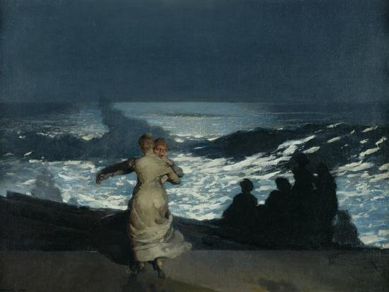 winslow-homer-summer-night-1890