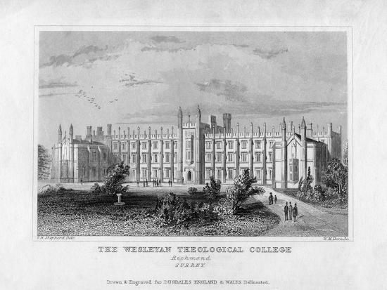 wm-dore-the-wesleyan-theological-college-richmond-surrey-mid-19th-century