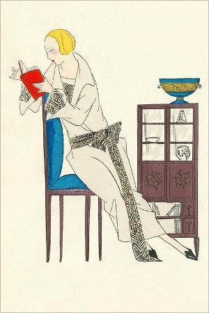 woman-reading-fashion-illustration