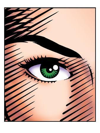 woman-s-green-eye