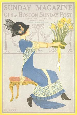 woman-with-daffodils