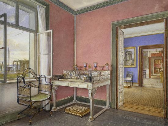 writing-desk-of-princess-in-charlottenhof-palace