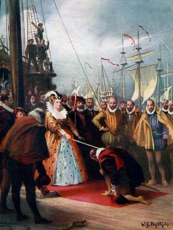 ws-bagdatopulos-queen-elizabeth-knighting-sir-francis-drake-1581