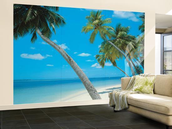 Yikiki Beach Huge Wall Mural Poster Print Wallpaper Mural at Artcom