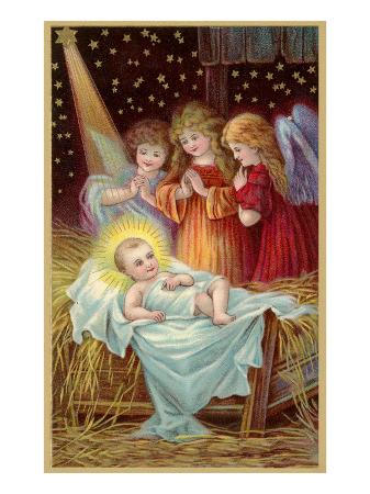 young-girl-angels-admiring-christ-child