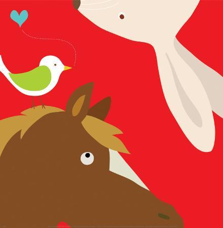 yuko-lau-farm-group-rabbit-and-horse