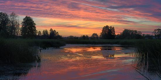 yurii-shelest-colorful-sunset-over-a-small-lake-on-a-summer-day