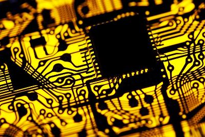 Printed Circuit Board, Artwork-PASIEKA-Photographic Print