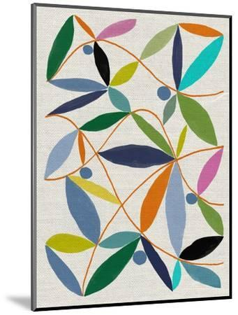 Printed Leaves-Jenny Frean-Mounted Giclee Print